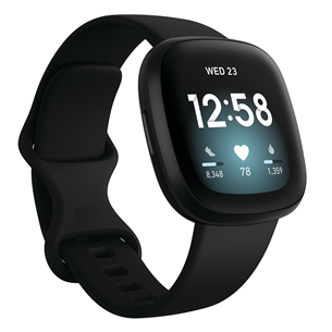 Nutikell Fitbit Versa 3 FB511BKBK