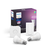Nutivalgusti komplekt Philips Hue White and Color Ambience (E27)