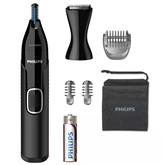 Триммер для носа, ушей, бровей и создания контуров Philips