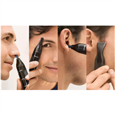 Nose, ear, eyebrow and detail trimmer Philips