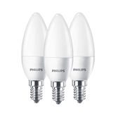 LED lamp Philips (E14, 40W) 3 tk