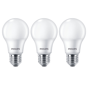 3 x LED lamp Philips (E27, 60W) 929002306203