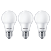 LED lamp Philips (E27, 60W) 3 tk