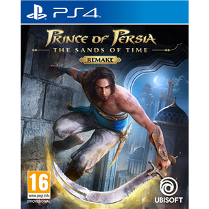PS4 mäng Prince of Persia: The Sands of Time Remake (eeltellimisel)