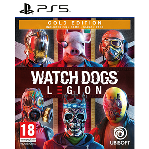 PS5 mäng Watch Dogs: Legion GOLD Edition
