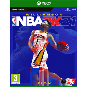 SX game NBA 2K21