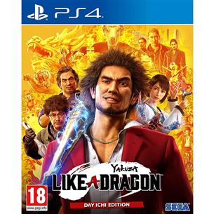 Игра Yakuza: Like a Dragon для PlayStation 4