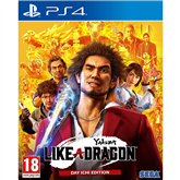 PS4 mäng Yakuza: Like a Dragon