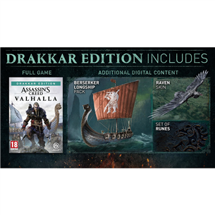 PS5 mäng Assassin's Creed: Valhalla Drakkar Edition