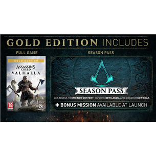 PS5 mäng Assassin's Creed: Valhalla GOLD Edition