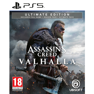PS5 mäng Assassins Creed: Valhalla Ultimate Edition