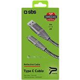 Juhe USB-C SBS Unbreakeable Reflective Cable (2 m)