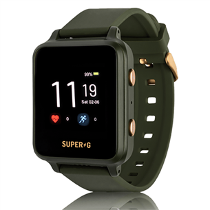 Kid's smartwatch Super-G Active SUPERGACTIVE-GREEN