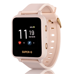 Kid's smartwatch Super-G Active SUPERGACTIVE-PINK