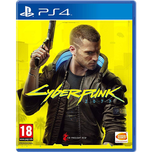 PS4 game Cyberpunk 2077