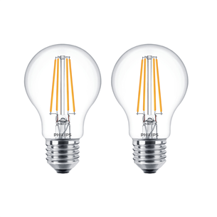 2 x LED lamp Philips (E27, 60W) 929001387368