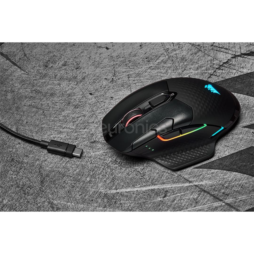 Беспроводная мышь Corsair Dark Core Pro SE RGB
