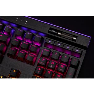 Klaviatuur Corsair K95 RGB Platinum XT Cherry MX Speed Silver (SWE)
