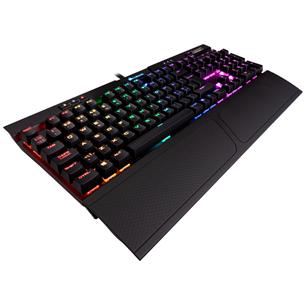 Клавиатура Corsair K70 RGB MK.2 Cherry MX Red (SWE)