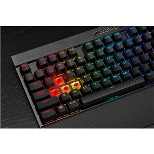 Keyboard Corsair K65 LUX TKL RGB Cherry MX Red (SWE)