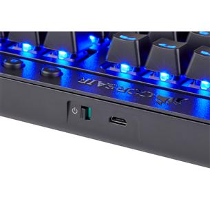 Juhtmevaba klaviatuur Corsair K63 Cherry MX Red (SWE)