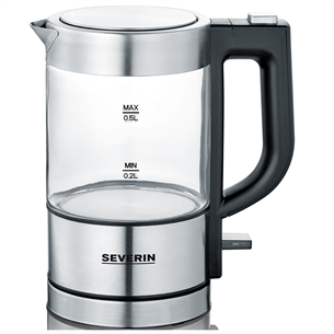 Glass Water Kettle Severin WK3472