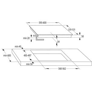Интегрируемая индукционная варочная панель Gorenje