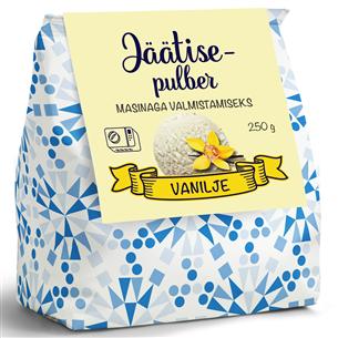 Vanilje jäätisepulber Revala 250 g 4740053007491