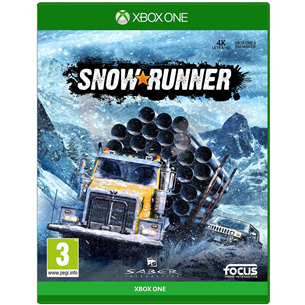 Xbox One mäng SnowRunner