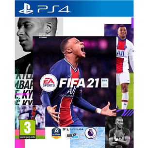 PS4 game FIFA 21 5030935122916
