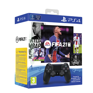 Игровой пульт Sony DualShock 4 для PlayStation 4 + FIFA 21 711719834625