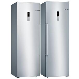 SBS-Refrigerator Bosch (186 cm) KSV36BIEP+GSN36BIFV