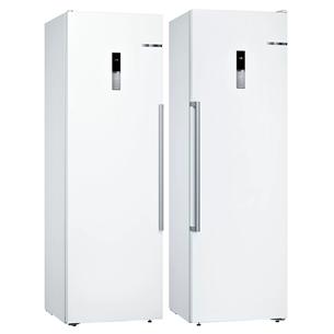 SBS-Refrigerator Bosch (186 cm) KSV36BWEP+GSN36BWFV