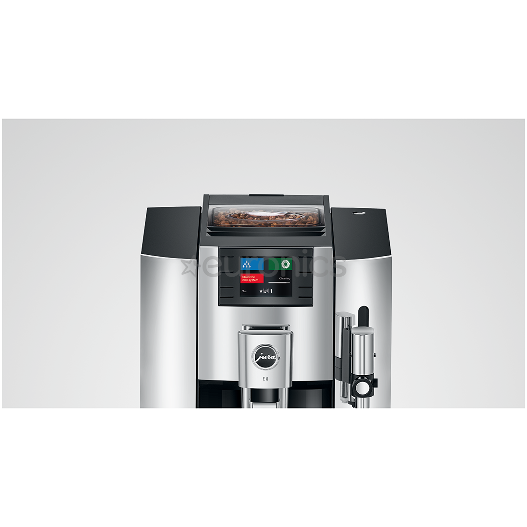 Espressomasin JURA E8 Chrome