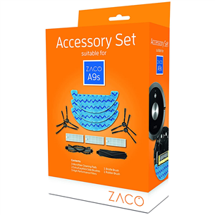 Original Accessory Set for Zaco A9s robot vacuum cleaner 501927