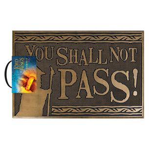 Дверной коврик Shall not Pass 5050293854830