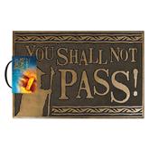 Door mat Shall not Pass