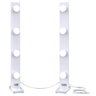 Подсветка для туалетного столика Lamps4makeup 4+4 Basic BASIC4