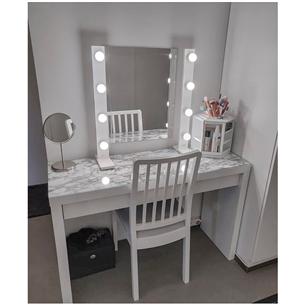 Makeup table lighting Lamps4makeup 4+4 Basic