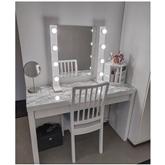 Peeglilaua valgustus Lamps4makeup 4+4 Basic