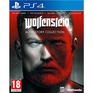 PS4 mäng Wolfenstein: Alt History Collection 5055856427872
