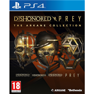 PS4 mäng Dishonored and Prey: The Arkane Collection 5055856427964