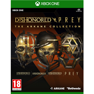 Xbox One mäng Dishonored and Prey: The Arkane Collection 5055856428077