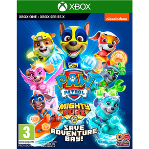 Xbox One mäng Paw Patrol: Mighty Pups Save Adventure Bay!