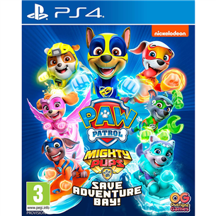 PS4 mäng Paw Patrol: Mighty Pups Save Adventure Bay!
