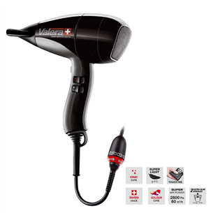 Hair dryer Valera Swiss Nano 6200 Light Ionic Rotocord