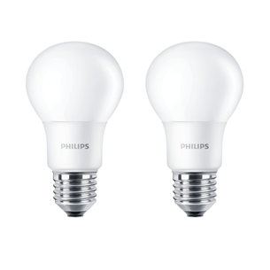 2 x LED lamp Philips (E27, 60W) 929001234334