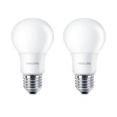 LED lamp Philips (E27, 60W) 2 tk
