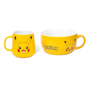 Mug and bowl Pokemon Pickachu 5028486406685