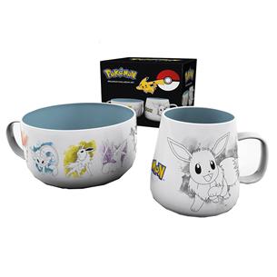 Mug and bowl Pokemon Eevee